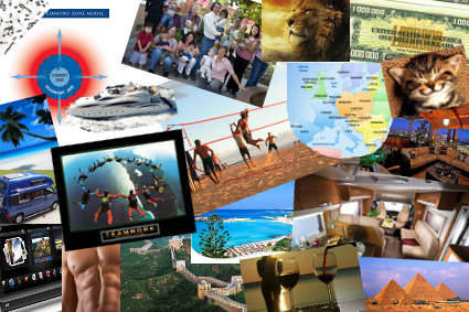 My VisionBoard August 2012